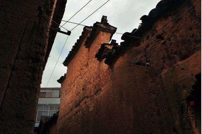 夯土墙民居