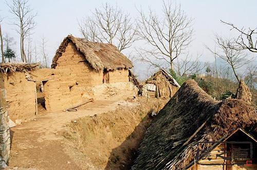 传统夯土建筑